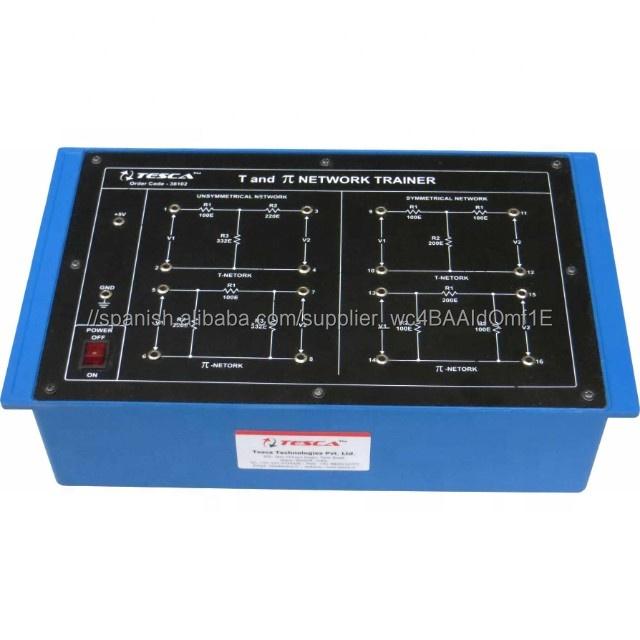 Imagen y impedancia característica de T y pastel red entrenador