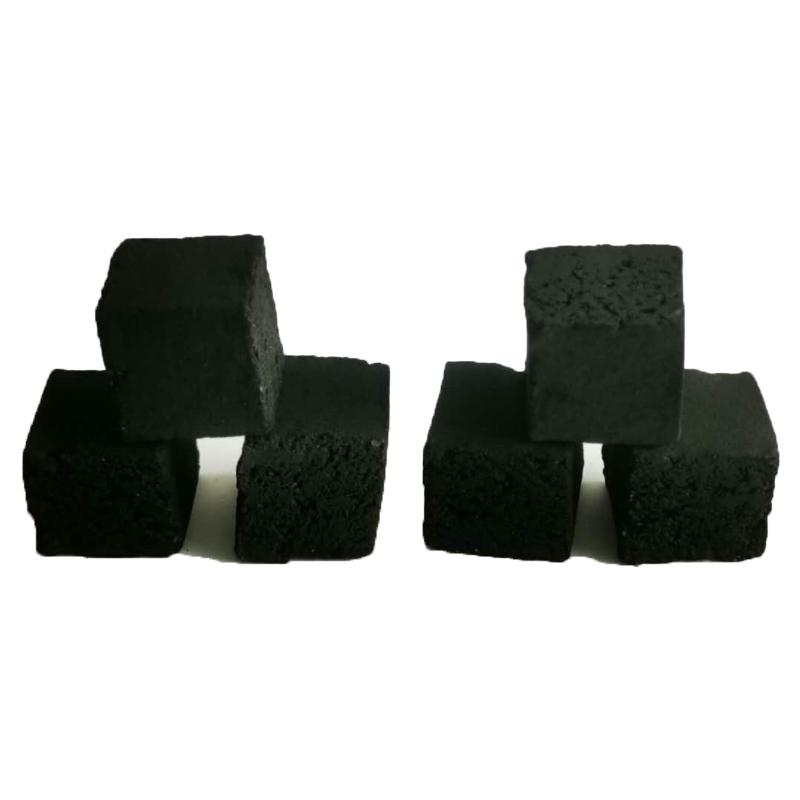 Ticaret iş fikirleri hindistan cevizi kabuğu 25x25x25 küpü aktif kömür hindistan cevizi