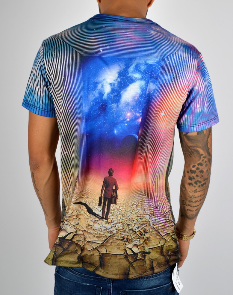 New Sublimation T Shirt All Over Sublimation Printing T