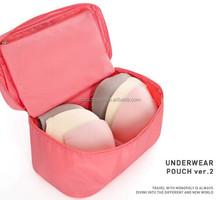 Women Girl Travel Bra Underwear Lingerie Organizer Cosmetic Bag