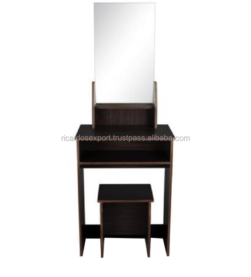 Sleek dressing table dresser luxury cheap wooden for Cheap dressing table