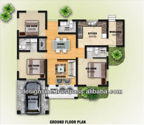 2014 Newly Added 3D Home Model Designs And Apartment Plans
