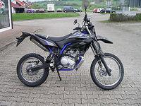 YAMAHA WR 125 R MOTORCYCLE (7178 GASOLINE)