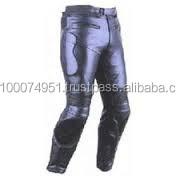 leather motor bike trouser