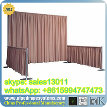 RK adjustable pipe and drape - base plate promotion with clearance price for wedding