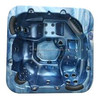 On sales H2O 4500 Series Twin Pump Hot Tub (Majestic Sky/Grey) original