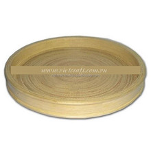 multi design bamboo tray beverage serving tray handmade in Vietnam