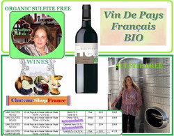 ORGANIC SULFITE FREE FRENCH WINE, THE BEST FROM FRANCE GREAT PRICES