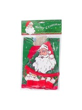 Santa Claus party supplies for 4
