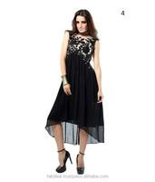 New Style Design Ladies Kurti | Designer Long Kurti | Black Long Dress Kurti