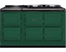 British Racing Green Aga Total Control Five Oven Range Cooker-TC5