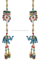 Indian Craft Elephant Door Hanging & Wall Hanging from India