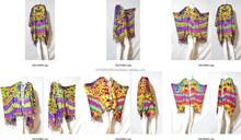 vintage retro HIPPIE BOHO Tie dye festival music beach fringe shirt tunic tent kaftan cover up Cardigan Plus