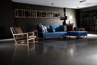 2015 Fashionable Modern Furniture Sofa Blue L Corner