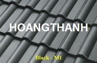 Concrete roof Tile /Black M1