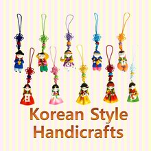 Korean Traditional Color-mix Cellphone Strings/Korean folk handicrafts/Korean gift/Korean Souvenirs/Korean tourist gifts
