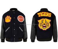 Custom Varsity Jacket/Mens Melton Wool Varsity Jackets Wholesale , custom bomber jacket for singers