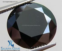2015 Hot sale Loose AAA +, AA, A , Black Synthetic Moissanite Diamonds Manufacturer From India