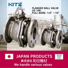 3 way ball kitz stainless steel ss304 10k Ball valve japan