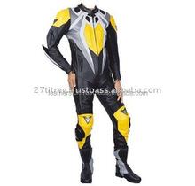 Motorbike Leather, Motorcycle Racing Motogp Kawasaki Leather Two Piec Suit Black