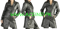 ladies long leather coats gothic leather coat heavy leather coat cowhide leathe