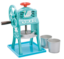 Swan Ice Shaver Small Japanese Classic Style Shaved Ice Maker Japanese Sweets