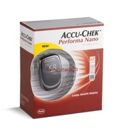 Accu Check Performa Nano KIT Multiclix Lancing Device 10 Blood Sugar Test Strips