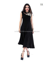 Latest fashion dresses | Sleeveless Fashion Woman Dress