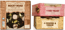 Luxury Cake, sweet cupcake, Candy recycled gift paper box packaging