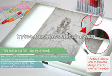 Superior #1 selling in JAPAN WEB SITE SIZE A3 TRACING lights led THIN BOARD for japan pictures