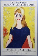 Kees VAN DONGEN - Brigitte Bardot - VINTAGE LIMITED EDITION LITHOGRAPH (1964)
