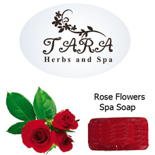Rose Flower Loofah Scrub Spa Soap 100g.