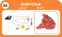 Buffalo Rump Steak Meat
