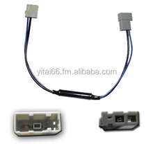 Radio converter with areial connectors for Mazda, Toyota, Nissan, Honda, Suzuki a converter from 76Mhz - 90Mhz to 94Mhz - 108Mhz