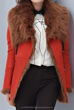 Toscana Shearling Sheepskin Jacket Coat for Women