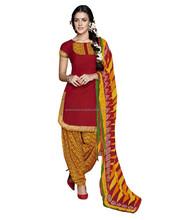 Designer Patiala Salwar Kameez Cutting