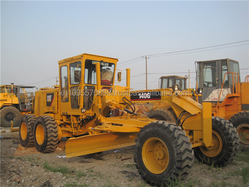 Used Motor Grader Cat 140g Caterpillar Grader Buy Cat
