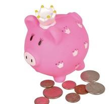 """3.5""""LITTLE PRINCESS PIGGY BANK"""