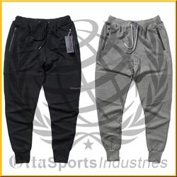 women new design bleach washed motocyle pants zippers style biker joggers
