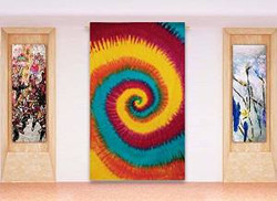 "abstract Tapestry Indian Cotton Tapestries Twin Sheets Hanging Hippie 84"" X 56""-TP377Q"