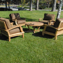 LUXURY STYLE - high quality outdoor sofa - teak wood furniture - garden furniture