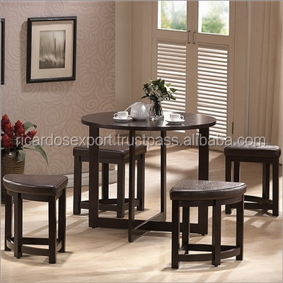 Rochester 5 piece dining table set for apartments hot sale for 5 piece living room table set