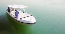 Passenger boat 25 seats made in the UAE - model Transporter 32