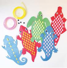 DIY Reptile Bookmark 5 Pack