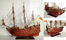 SAN FELIPE WOODEN MODEL BOAT - WOODEN CRAFT SHIP
