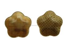 Piatti a base di bambù, codice hd 001/skype: www.huongdanghandicraft.com.hai