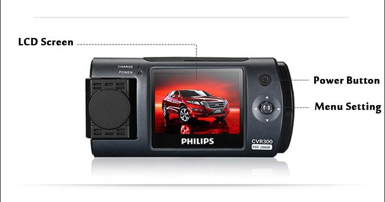 PHILIPS 150 graus gravador de vídeo da câmera como presente de aniversário para o marido
