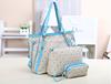 High quality OL shoulder bag women bag brand letter Style Europe bag simple large + small +Wallet