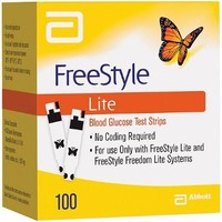 Freestyle Lite Glucose Test Strips x 100 Strips