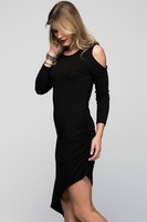 Woman Dress Ladies New Fashion Clothes Wearing Autumn 2015 Product : CM-040-BLACK
